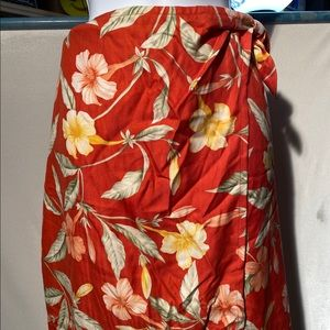NWT Tommy Bahama Heirloom Garden Sarong